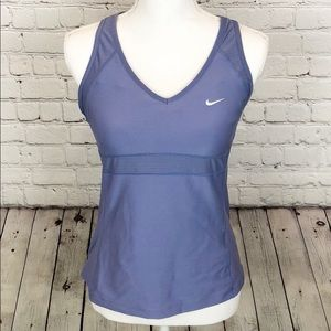 🎉* Nike workout tank lilac color with bra
